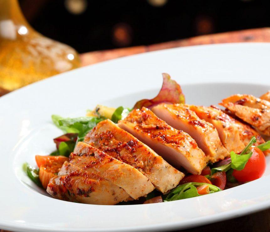 sliced chicken breast resized